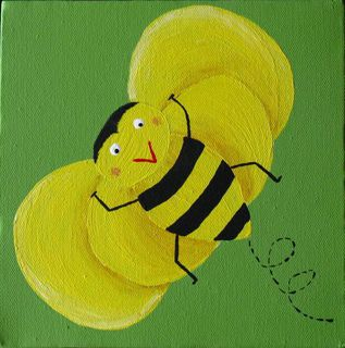Bumble Bee Yellow/Green