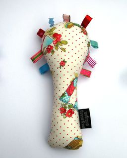 Baby Rattle - Dotty Gumboots