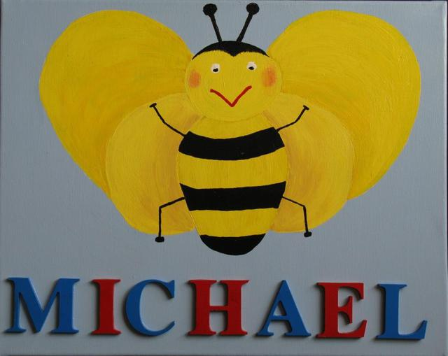 'Michael' Bumble Bee Yellow/Blue