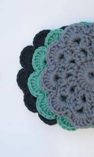 Coasters Navy/Teal/Blueberry